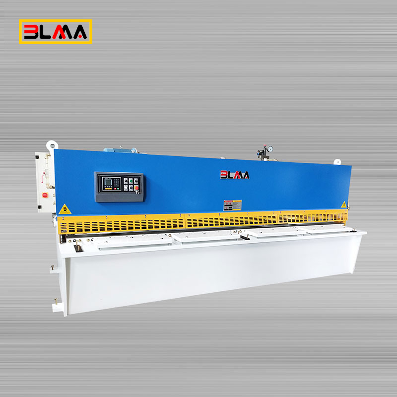 QC12K Swing Beam Hydraulic Sheet Metal Shearing Machine with E21S