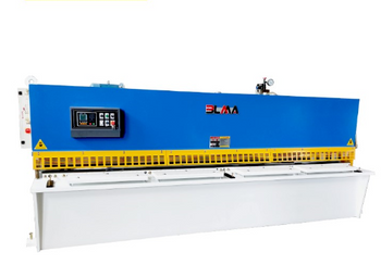 The Operation Of Hydraulic Sheet Metal Shear