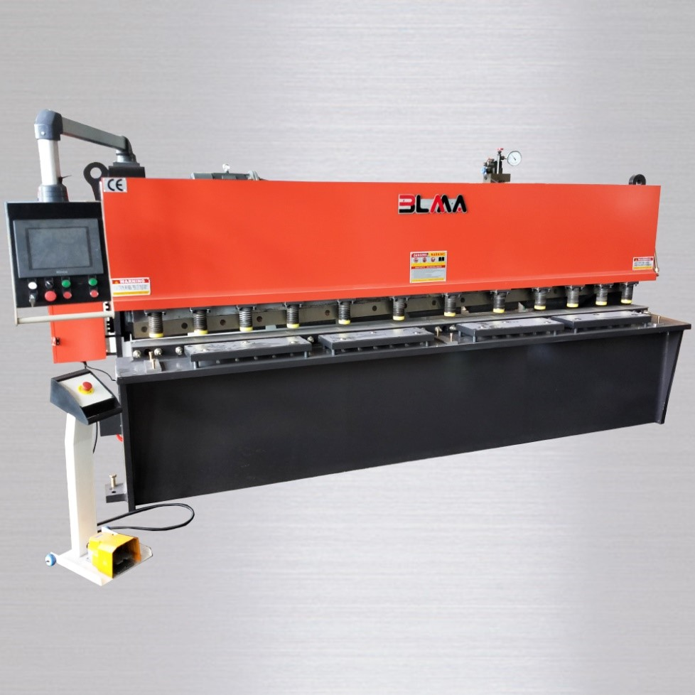 hydraulic sheet metal shear