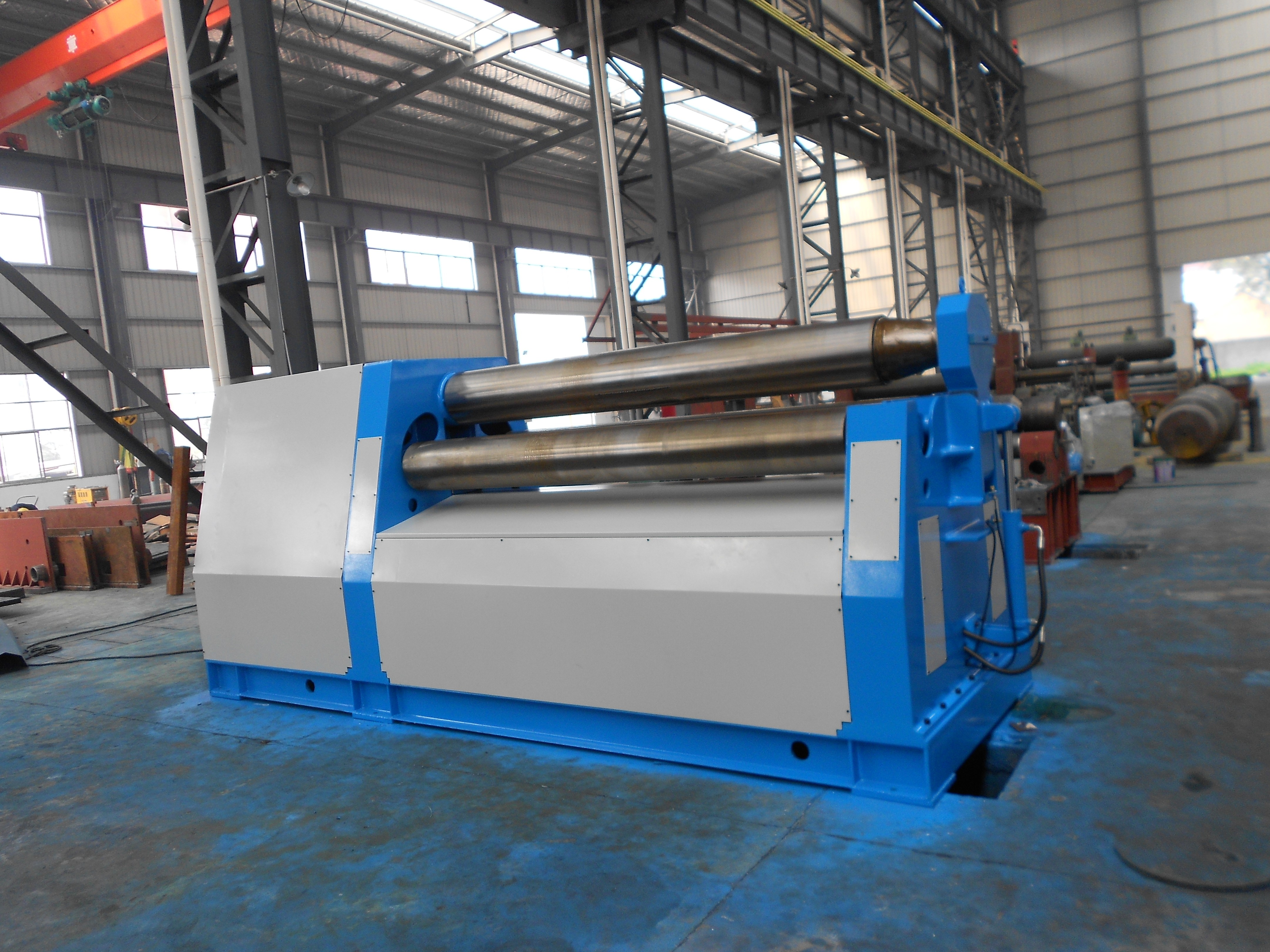 Hydraulic 4 Roller Plate Rolling Machine